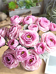 Недорогие -39,5 см лулянь моделирование одной ветви с цветами в руках свадьба домашняя фотография набор 1 палка