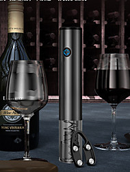 cheap -Electric Wine Opener Rechargeable Automatic Corkscrew Bottle  With Foil Cutter USB Charging Cable Stainless
