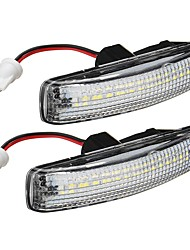 cheap -Car LED Black Smoked Side Repeater Light Side Marker Lights For Range Rover Sport Discovery