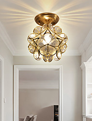 cheap -20 cm Lantern Desgin Flush Mount Lights Copper Mini Brass Contemporary Nordic Style Generic