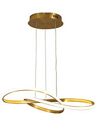 cheap -50 cm Single Design Pendant Light Metal Modern Style Painted Finishes LED  Modern 110-120V 220-240V