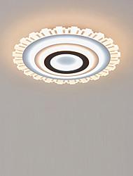 billiga -led akryl taklampa 50 cm rund dimbar ljusmonterad lampa sovrum barnrum hemmakontor moderna 110-120v / 220-240v
