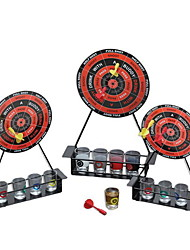 cheap -Drink Game Darts Shot 4 Small Glasses 4 Darts 1 Rack with Choice Board