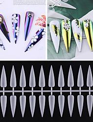 cheap -1 set Plastics Ergonomic Design Multi Function Simple Basic Office / Career Daily Artificial Nail Tips for Finger Nail / Romantic Series