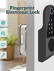 cheap -WAFU WF-014D Stainless Steel lock / Fingerprint Lock / Remote Lock Smart Home Security iOS / Android System Fingerprint unlocking / Password unlocking / Mechanical key unlocking Household / Home