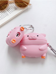 cheap -3D Cartoon pig Earphone Cases for AirPods 3 Case Cute Cartoon for Apple Air Pods pro Protect Cover for Earpods Silica gel Case