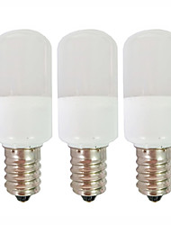 cheap -3pcs 1.5 W LED Globe Bulbs 80 lm E14 T22 9 LED Beads SMD 2835 Warm White White 180-265 V