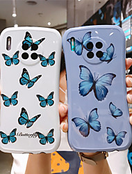 cheap -Summer Butterfly Case for Huawei P30 Pro P40 Pro Mate 30 Pro Protection Cover