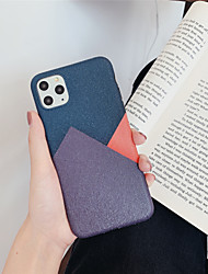 cheap -Silk Pattern Stitching Color TPU Protection Cover for Apple iPhone Case 11 Pro Max X XR XS Max 8 Plus 7 Plus SE(2020)