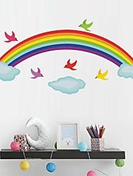 cheap -Rainbow Decorative Wall Stickers Kids Room