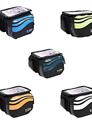 cheap -Bike Handlebar Bag 5.7 inch Cycling for Similar Size Phones Blue Orange Green Bike / Cycling Recreational Cycling