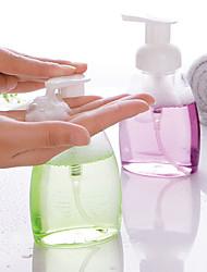 cheap -250ml Empty Squeezed Foaming Pump Soap Foam Bottle Cosmetic Containers Dispenser PET Liquid Travel Bottle