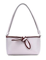 cheap -Women's Bow(s) PU Evening Bag 2020 Black / Purple / Beige