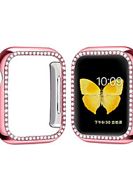 cheap -Cases For Apple Watch Series 5 / Apple Watch Series SE / 6/5/4/3/2/1 Plastic Compatibility Apple iWatch