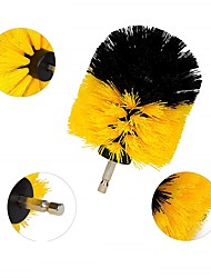cheap -3PCS Electric Drill Brush Kit Plastic Round Cleaning Brush For Carpet Glass Car Tires Nylon Brushes Scrubber Drill Drill NOT Include