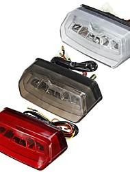 cheap -12V Motorcycle LED Brake Rear Tail Turn Signal License Integrated Light