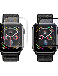 cheap -2Pcs Full Cover PET Smart Watch Film for Apple Watch for IWatch Series 5 4 3 2 1 40/44/38/42mm Protective Film Smart Watch Accessory