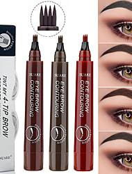 cheap -1pcs Microblading Eyebrow Pen Waterproof Fork Tip Eyebrow Tattoo Pencil Long Lasting Professional Fine Sketch Liquid Eye Brow Pencil