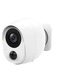 cheap -Wireless Rechargeable Battery Powered WiFi Camera Outdoor Security Camera with 2-Way Audio 1080P Home Surveillance Camera with Motion Detection Night Vision Cloud Storage/SD Slot