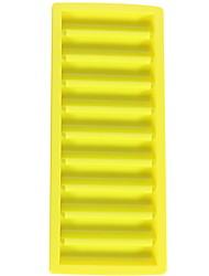 cheap -Ice Grid 10 Grid Long Plastic Ice Box Ice Grid Rectangular Ice Mold Chocolate Baking Mold Ice Grid Ice Cube