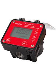 cheap -Digital Oval Gear Diesel Flow Meter Sensor Counter Indicator Flowmeter Viscous liquidheavy oilpolyvinyl alcoholresins G1/2