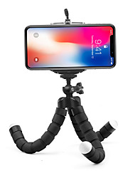 cheap -Mini Flexible Sponge Octopus Tripod for iPhone Samsung Xiaomi Huawei Mobile Phone Smartphone Tripod for Gopro 8 7 5 Camera
