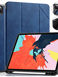 cheap -DG.MING Case For Apple iPad Mini 4 Shockproof Auto Sleep / Wake Up Solid Colored Luxury PU Leather For iPad Pro 9.7 / iPad Air / iPad Air 2 / iPad 2017 / iPad 2018 Case Cover