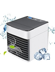 cheap -Portable Air Conditioner USB Desktop Air Conditioning USB Convenient Air Cooler Fan 3 Speeds, Super Quiet Humidifier Misting Cooling Fan for Home Office Bedroom Mini Air Cooling Fan