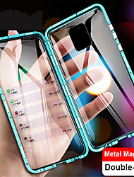 cheap -Magnetic Case for Xiaomi Mi 11 Mi 10 Pro Note 10 Pro CC9 Pro 9T 9T Pro Redmi Note 9 Note 9S Note 9 Pro Note 9 Pro Max Note 8 Note 8 Pro K20 K20 Pro Metal Double Sided Glass Phone Protective Case