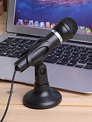 cheap -3.5mm Plug Home Stereo MIC Desktop Stand for PC YouTube Video Skype Chatting Gaming Podcast Recording