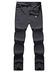 cheap -Men's Hiking Pants Solid Color Summer Outdoor Loose Breathable Quick Dry Sweat-wicking Comfortable Cotton Pants / Trousers Bottoms Black Grey Hunting Fishing Climbing L XL XXL XXXL 4XL - DZRZVD®