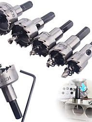 cheap -High Quality 12 PCS HSS Drill Bit Hole Saw Set Stainless Steel Metal Alloy HOT Drill Bits