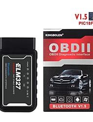 cheap -ELM327 Obd2 Scanner V1.5 Bluetooth Android Adapter Scaner Automotriz Car Diagnostic-Tool Code Reader Scan Tools ODB II PIC25K80