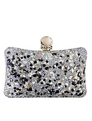 cheap -Women's Sequin PU Leather Clutch Wedding Bags Black / Gold / Silver