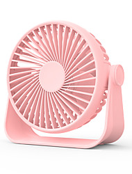 cheap -Portable Desk Fan Usb Fan Small Table Fan with 4 Speeds Strong Wind Quiet Operation Cooling for Home Office Travel Camping