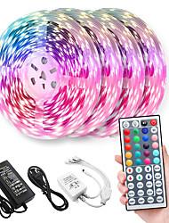 cheap -20M(4x5m) LED Light Strips RGB Tiktok Lights 2835 8mm Tape Diode LED Ribbon Flexible Controller 44 key Controller