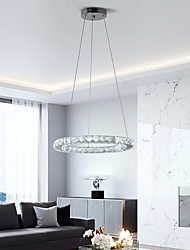 cheap -LED20W Crystal Pendant Light for Dinning Bed Room Dia40cm Warm White or White Light
