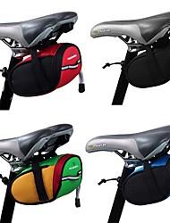 cheap -1.2 L Bike Saddle Bag Reflective Portable Cycling Bike Bag Terylene Bicycle Bag Cycle Bag Outdoor Exercise