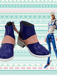 cheap -Cosplay Shoes JoJo's Bizarre Adventure Johnny Joestar Anime Cosplay Shoes PU Leather Men's / Women's 855