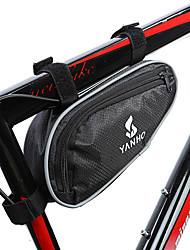 cheap -YANHO® 1 L Bike Frame Bag Top Tube Reflective Portable Cycling Bike Bag Oxford Cloth Bicycle Bag Cycle Bag Similar Size Phones Outdoor Exercise