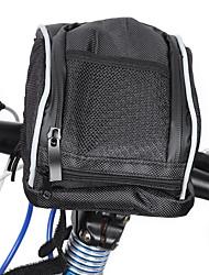 cheap -1.5 L Bike Handlebar Bag Rain Cover Large Capacity Waterproof Cycling Bike Bag Oxford Cloth Bicycle Bag Cycle Bag Outdoor Exercise Scooter