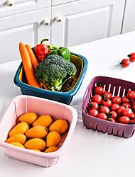 cheap -Household Kitchen Container Food Box Crisper Refrigerator Colander Fruit Vegetable Washing Bask Strainer Drainer Kitchen Tool