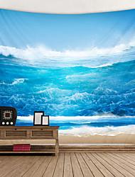 economico -onde spettacolari tappezzerie stampate decorazioni wall art tovaglie copriletto coperta da picnic spiaggia tiro arazzi colorato camera da letto sala dormitorio soggiorno sospeso