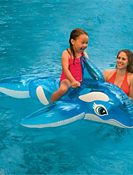 cheap -Inflatable Pool Float Swim Rings Kiddie Pool Inflatable Ride-on Inflatable Pool Animals PVC(PolyVinyl Chloride) Summer Whale Pool Kid's Adults'