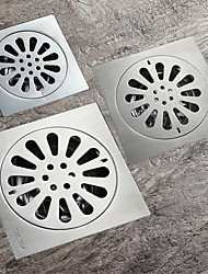 cheap -Drain New Design Contemporary Stainless Steel Bathroom Floor Mounted