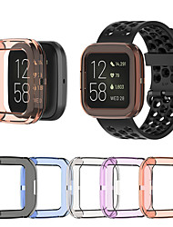 cheap -Ultra-thin Soft TPU Protector Case Cover Clear Protective Shell For Fitbit Versa 2 Band Smart Watch bracelet Screen Protector