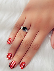 cheap -Women's Ring 1pc Silver Alloy Elegant Trendy Gothic Wedding Birthday Jewelry Love Wearable