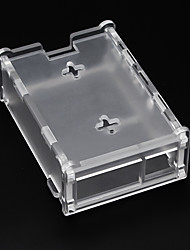 cheap -Suitable For Raspberry Pi 4B Acrylic Case 4modelB Transparent Assembly Box