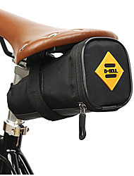 cheap -1.5 L Bike Saddle Bag Anti-Slip Reflective Waterproof Bike Bag Waterproof Fabric 600D Polyester Bicycle Bag Cycle Bag Outdoor Exercise