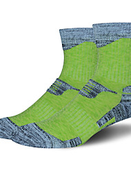 cheap -R-BAO Hiking Socks Socks 1 Pair Breathable Warm Sweat-wicking Comfortable Chinlon Elastane Autumn / Fall Spring Winter for Women's Ski / Snowboard Fishing Climbing Purple Fuchsia Green / Cotton